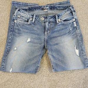 Silver jeans capri size 29 x 27